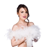 Feather Boa - White