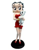 Betty Boop - Holding Pudgy