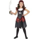 Pirate Skull & Crossbones Girl Costume