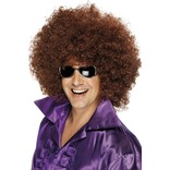 Brown Afro Wig, Mega-huge