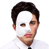 Phantom Side Mask - White