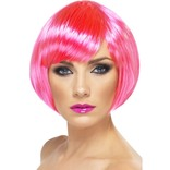 Neon Pink Babe Wig
