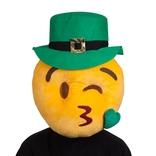 Kissy Face - St Patricks Emoji Mask