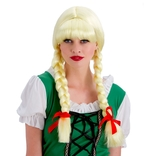 Bavarian Beer Girl Wig