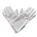 White Gents Gloves