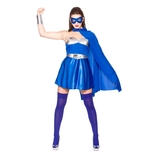 Hot Super Hero - Blue/silver
