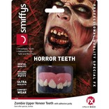 Horror Teeth, Zombie, With Upper Veneer Teeth