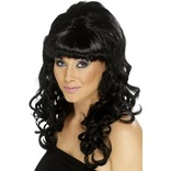 Black Beehive Beauty Wig