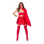 Hot Super Hero - Red/gold