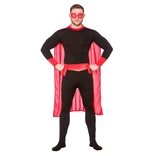 Super Hero Black / Red