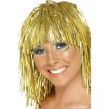 Gold Cyber Tinsel Wig