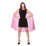 Super Hero Cape & Mask - Baby Pink