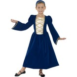 Tudor Princess Girl Costume