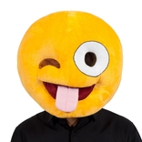 Crazy Face Emoji Mask