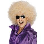 Blonde Afro Wig, Mega-huge