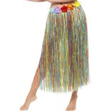Hawaiian Hula Skirt With Flowers
