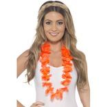 Orange Hawaiian Lei