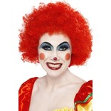 Red Crazy Clown Wig