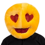 Love Heart Eyes Emoji Mask