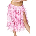 Hawaiian Hula Skirt, Pink