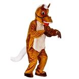 Happy Horse Mascot
