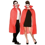 Cape With Collar - Red