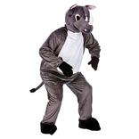 Raging Rhino Mascot
