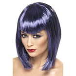 Purple Vamp Wig