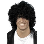 Black Afro 'wet Look' Wig