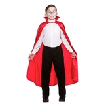 Red Deluxe Children's Satin Cape