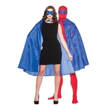 Super Hero Cape & Mask - Blue
