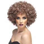 Brown & Blonde Afro Wig