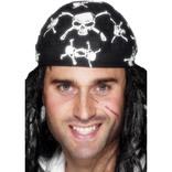 Pirate Bandana, Skull And Crossbones Design
