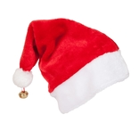 Deluxe Santa Hat With Bell