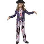 Deluxe Jolly Rotten Pirate Girl Costume