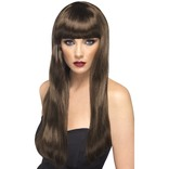 Brown Long Beauty Wig