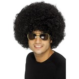 70's Black Funky Afro Wig