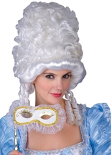 Masquerade Beauty White Wig