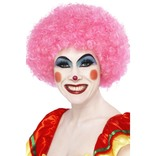 Pink Crazy Clown Wig
