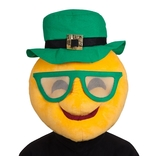 Cool Face - St Patricks Emoji Mask