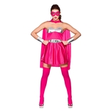 Hot Super Hero - Pink/silver