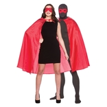 Super Hero Cape & Mask - Red