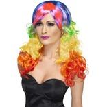 Rainbow Curl Wig